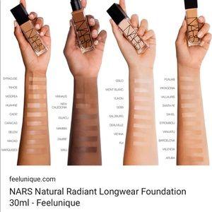 NARS Makeup - NARS Natural Radiant Longwear Foundation NEW 81c2c952c7133